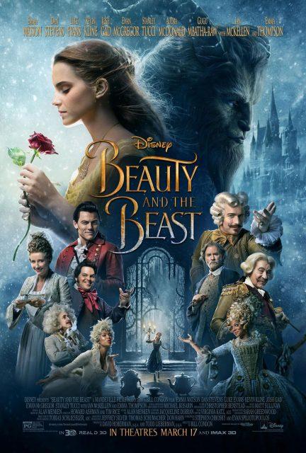 affiche poster belle bête film 2017 beauty beast disney