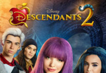 affiche poster descendants 2 disney channel original movie