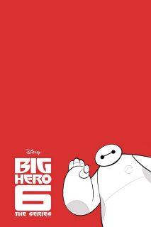 affiche poster nouveau heros big 6 disney xd