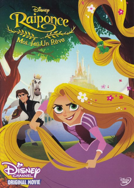 affiche poster raiponce moi rêve tangled before ever after disney channel