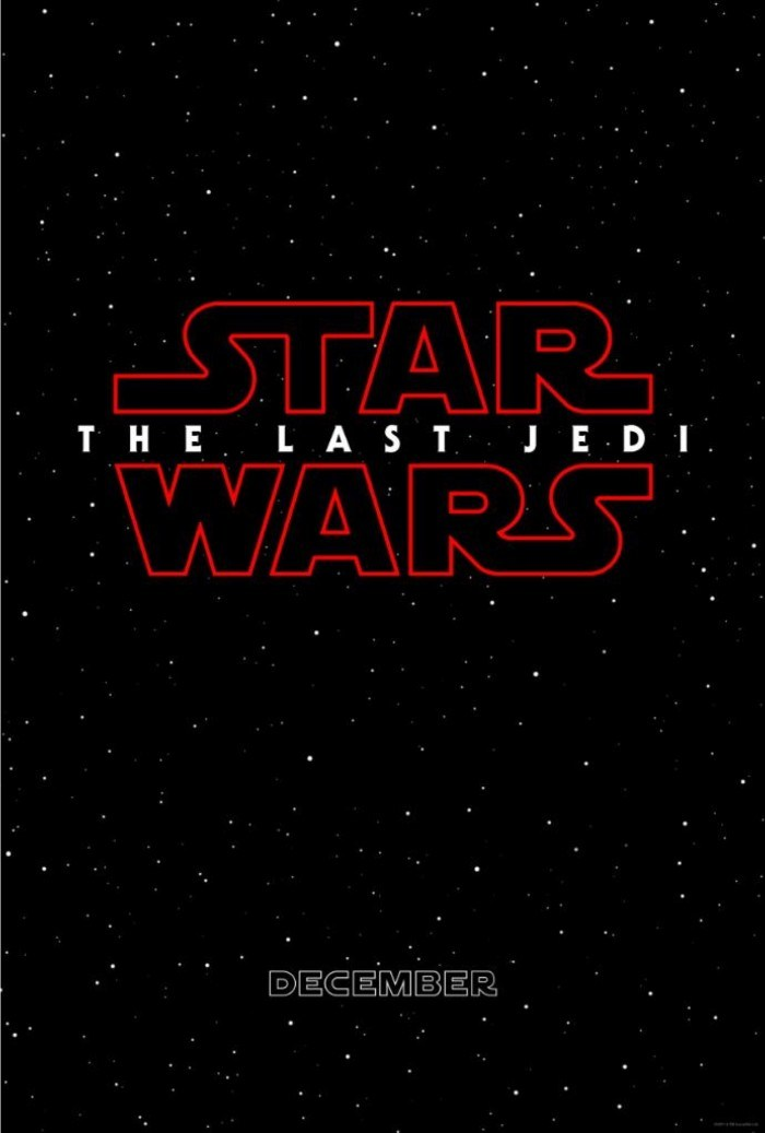 star wars 8 last jedi affiche poster disney lucasfilm