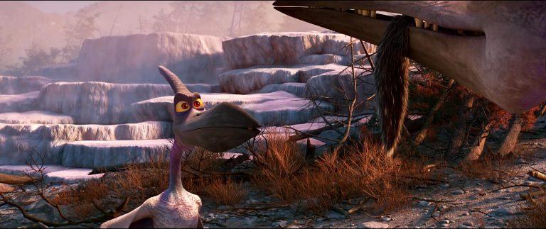 """Blizzard, personnage dans """"Le Voyage d'Arlo""""."""