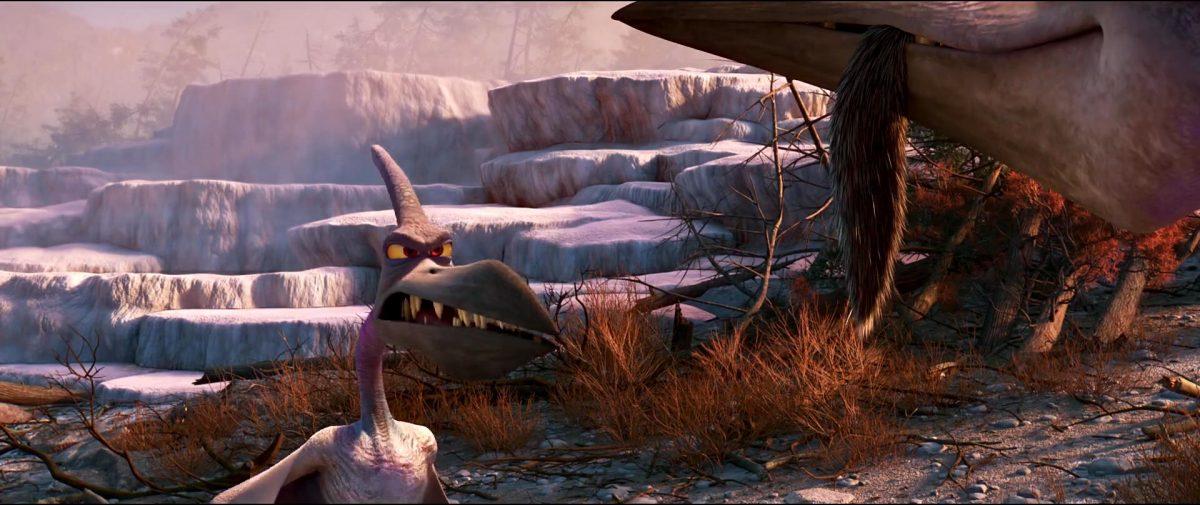 blizzard Downpour personnage character good dinosaur voyage arlo disney pixar
