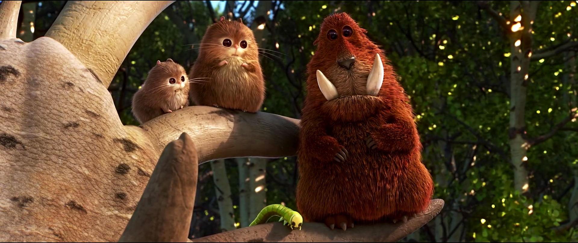 Dream-crusher briseur reve personnage character pixar disney voyage arlo good dinosaur