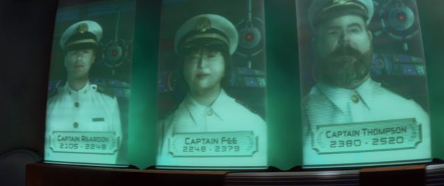 capitaine captain fee personnage character wall-e disney pixar