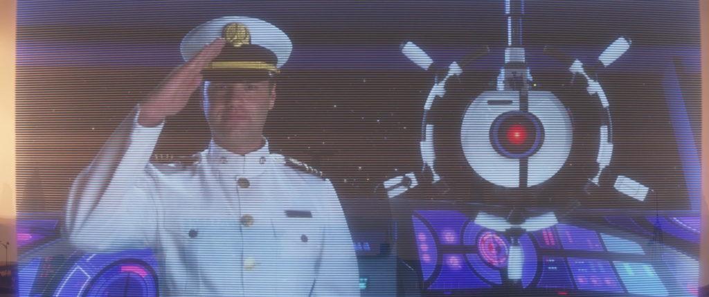 capitaine reardon pixar disney personnage character wall-e