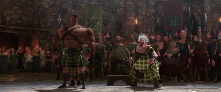 """Conan, personnage dans """"Rebelle""""."""