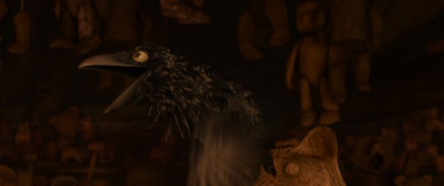 corbeau crow personnage character rebelle brave disney pixar