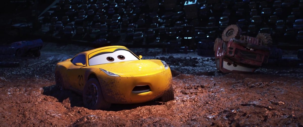 cruz ramirez personnage character cars disney pixar
