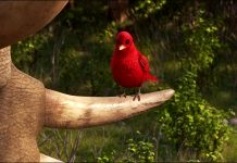 debbie personnage character pixar disney voyage arlo good dinosaur