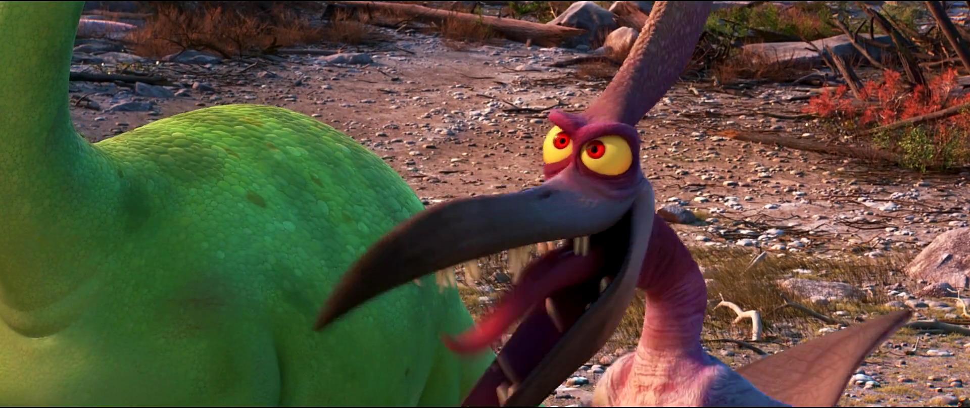 déluge coldfront personnage character pixar disney voyage arlo good dinosaur