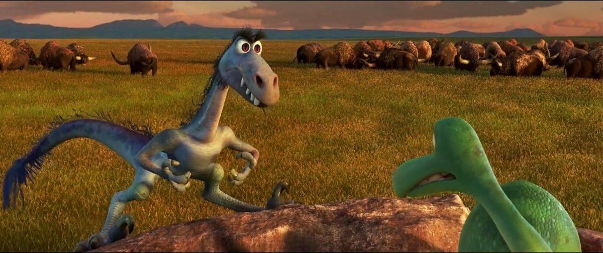 earl personnage character good dinosaur voyage arlo disney pixar