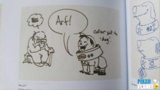 esprit pixar fous rire 25 ans disney livre book artwork