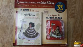 figurine collection disney hachette livret