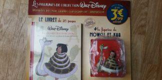figurine collection disney hachette livret