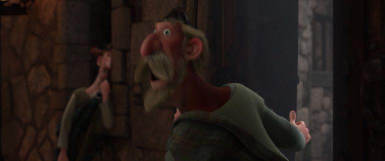 """Gordon, personnage dans """"Rebelle""""."""