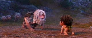 famille caverne family cave humain personnage character pixar disney voyage arlo good dinosaur