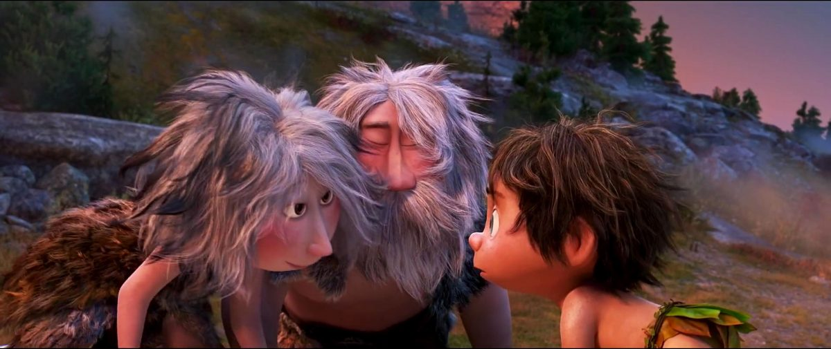 homme caverne cave family personnage character good dinosaur voyage arlo disney pixar