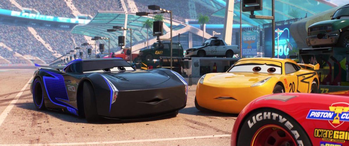 jackson storm personnage character cars disney pixar