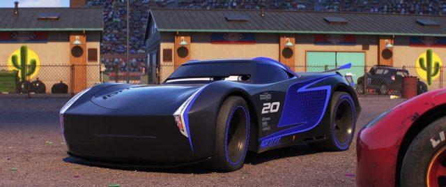 jackson storm personnage character disney pixar cars 3