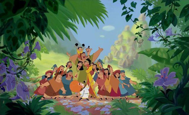 le chanteur personnage dans Kuzco L'empereur Megalo Disney