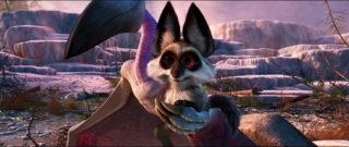 petit renard fox personnage character pixar disney voyage arlo good dinosaur