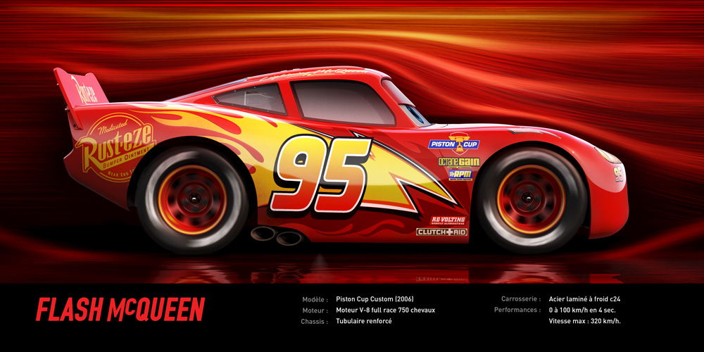 cars 3 disney pixar flash mcqueen