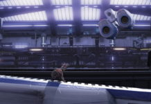 accostage robot docking pixar disney personnage character wall-e
