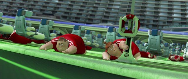robot maitre nageur lifeguard personnage character wall-e disney pixar