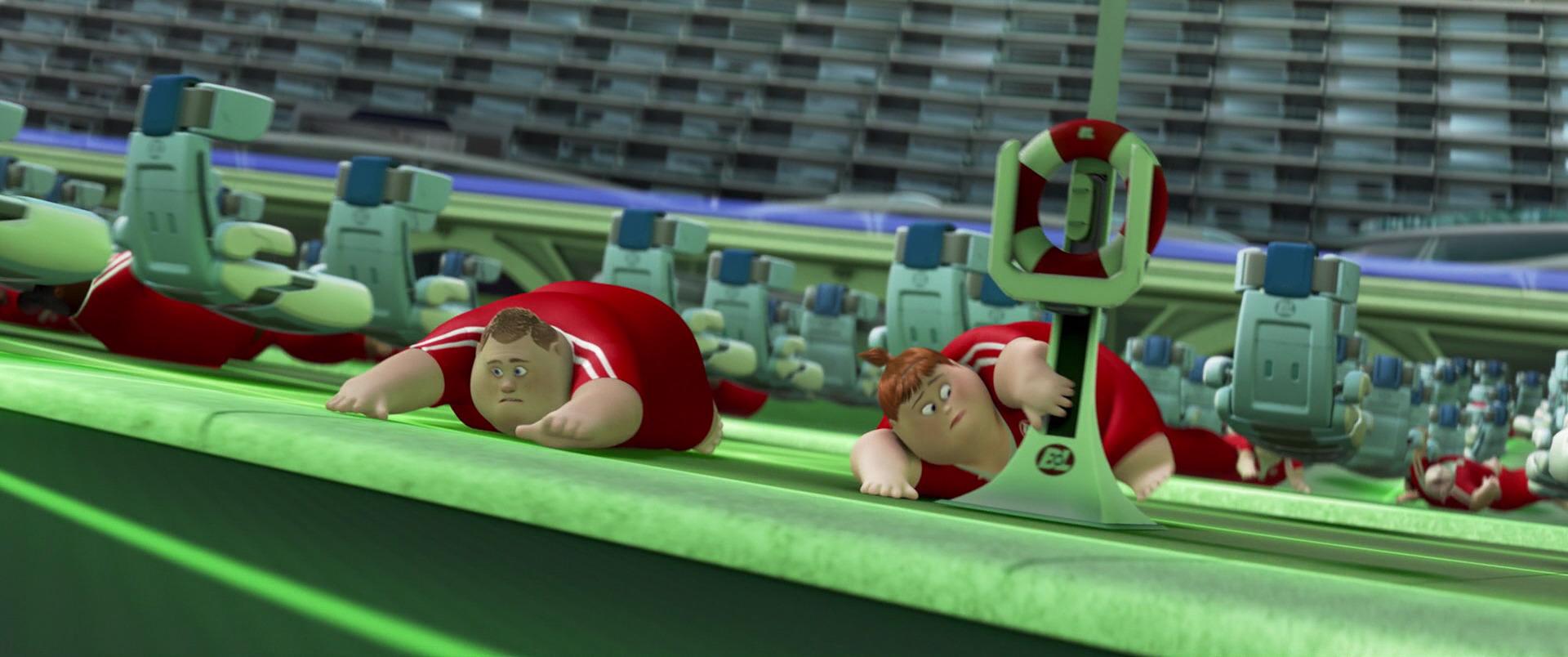 robot maitre nageur lifeguard pixar disney personnage character wall-e