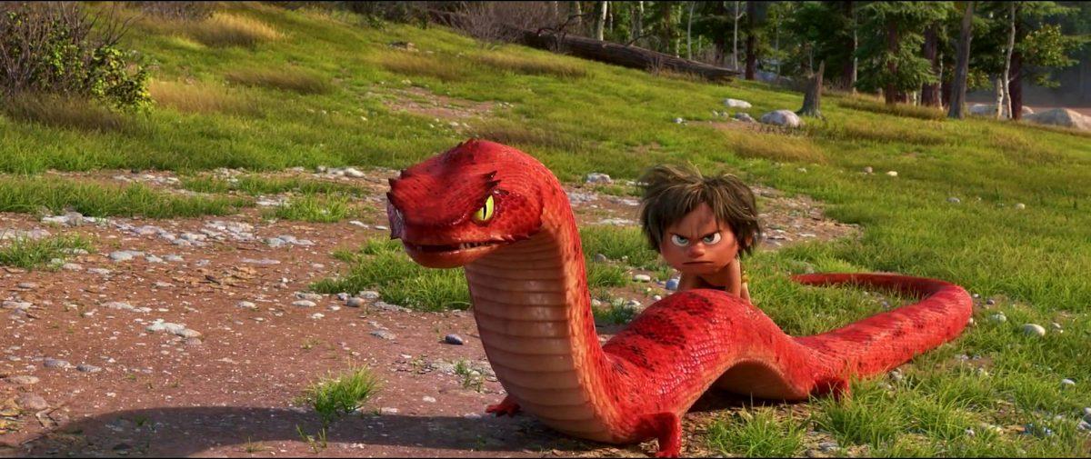 Tetrapodophis personnage character good dinosaur voyage arlo disney pixar