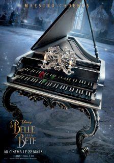 la belle et la bête beauty and beast affiche poster personnage character disney pictures