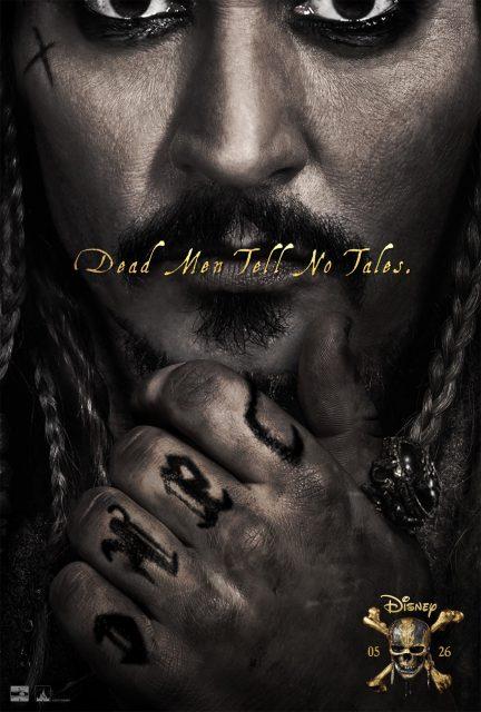affiche poster pirate caraibes carribeans 5 dead men tales vengeance salazar disney pictures