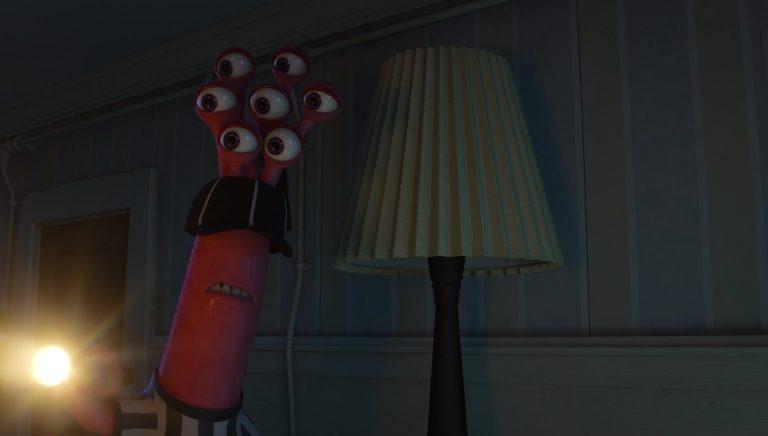 """L'arbitre, personnage dans """"Monstres Academy""""."""