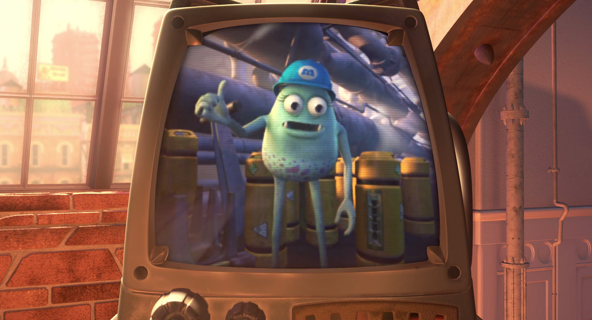 benny betty pixar disney personnage character monstres cie monsters inc