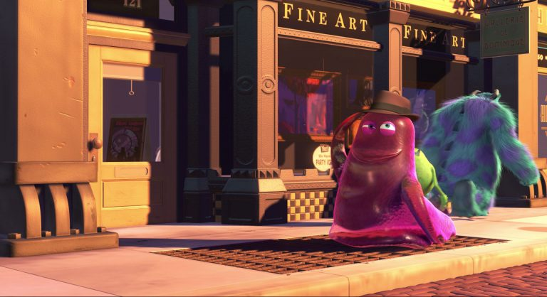 "Blobby, personnage dans ""Monstres & Cie""."