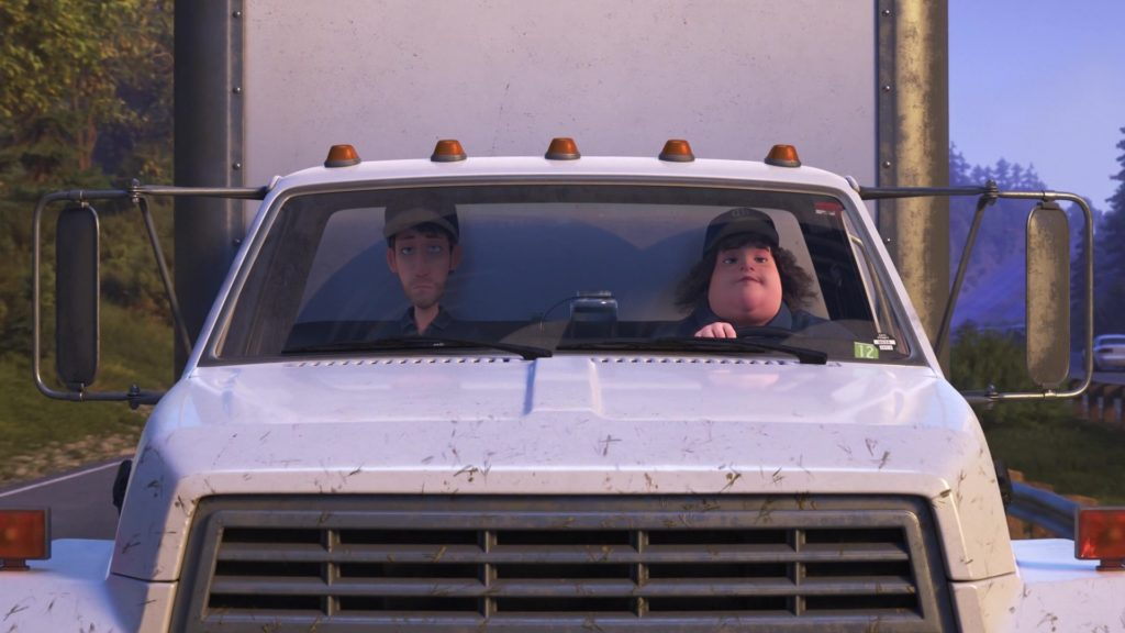 carl passenger pixar disney personnage character monde dory finding