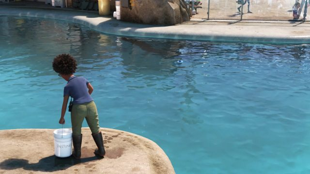 carole personnage character monde finding dory disney pixar