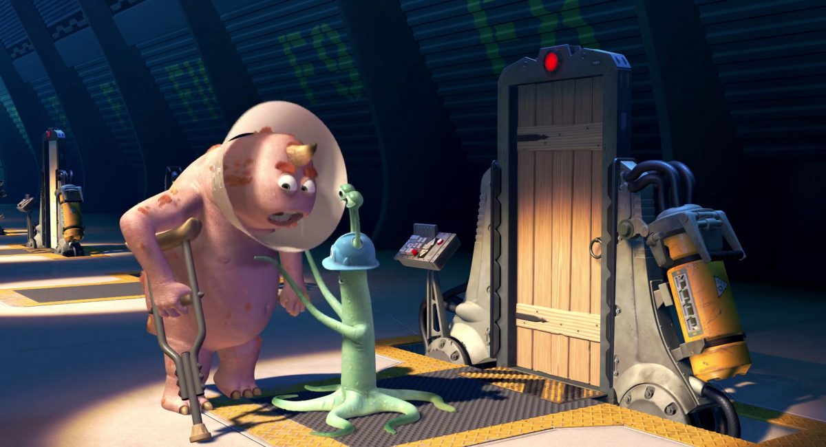 charlie ray proctor personnage character monstres monsters inc cie disney pixar