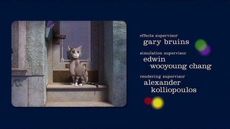 """Le chat, personnage dans """"Vice-Versa""""."""