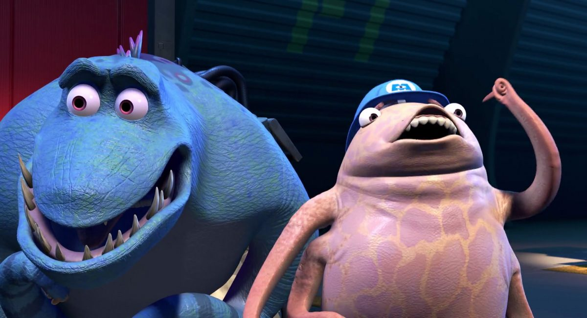 chuck personnage character monstres monsters inc cie disney pixar
