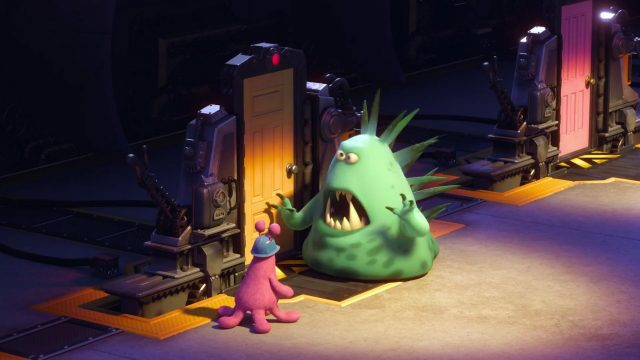 clive carver personnage character monstres monsters academy university disney pixar