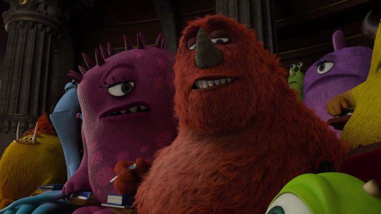 "Flora Blob Ghast, personnage dans ""Monstres Academy""."