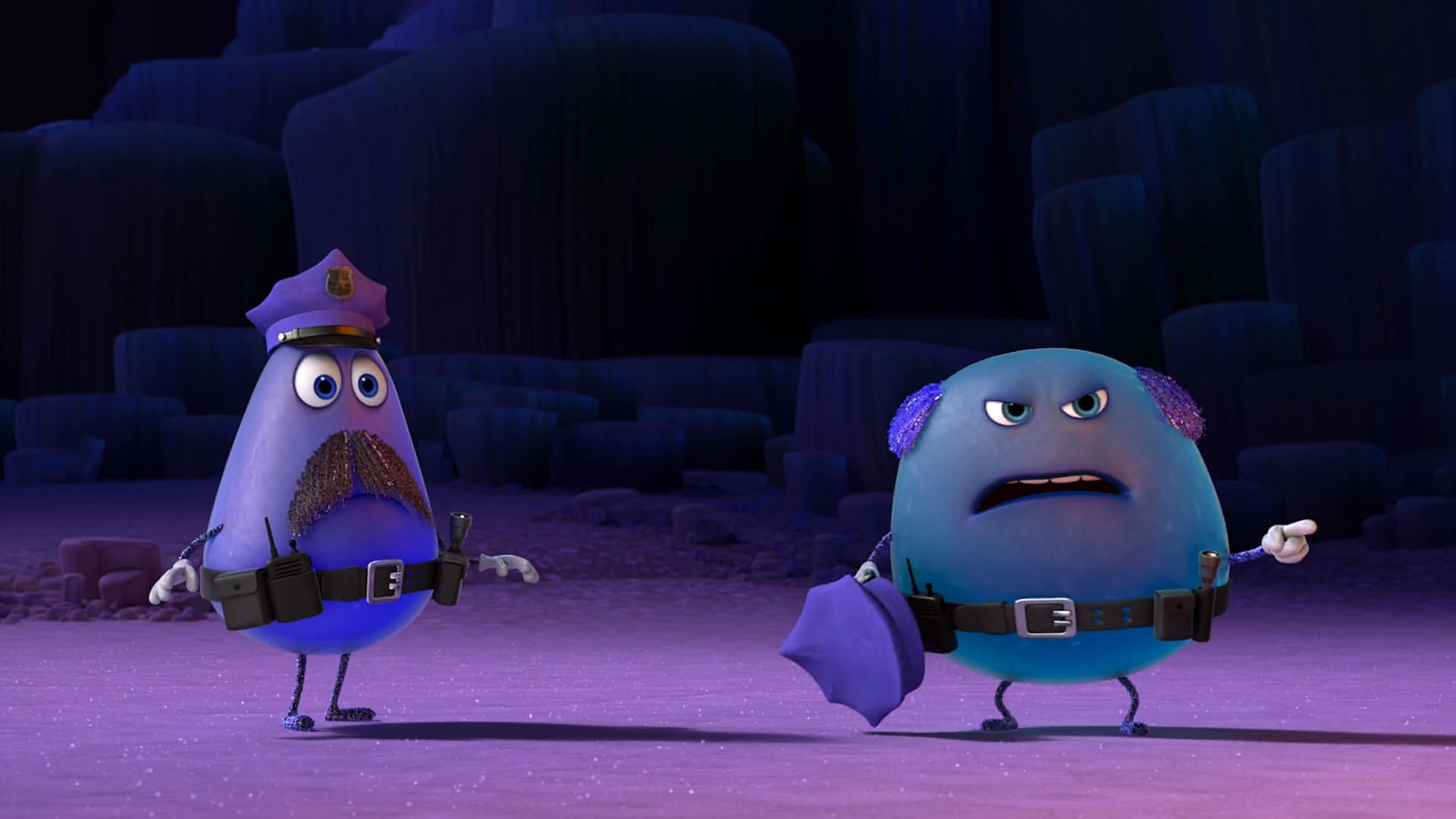 frank dave pixar disney character personnage vice-versa inside out