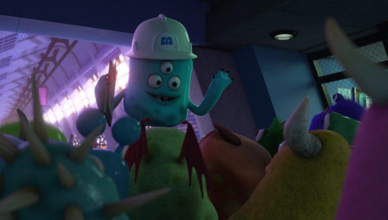 "Le guide, personnage dans ""Monstres Academy""."