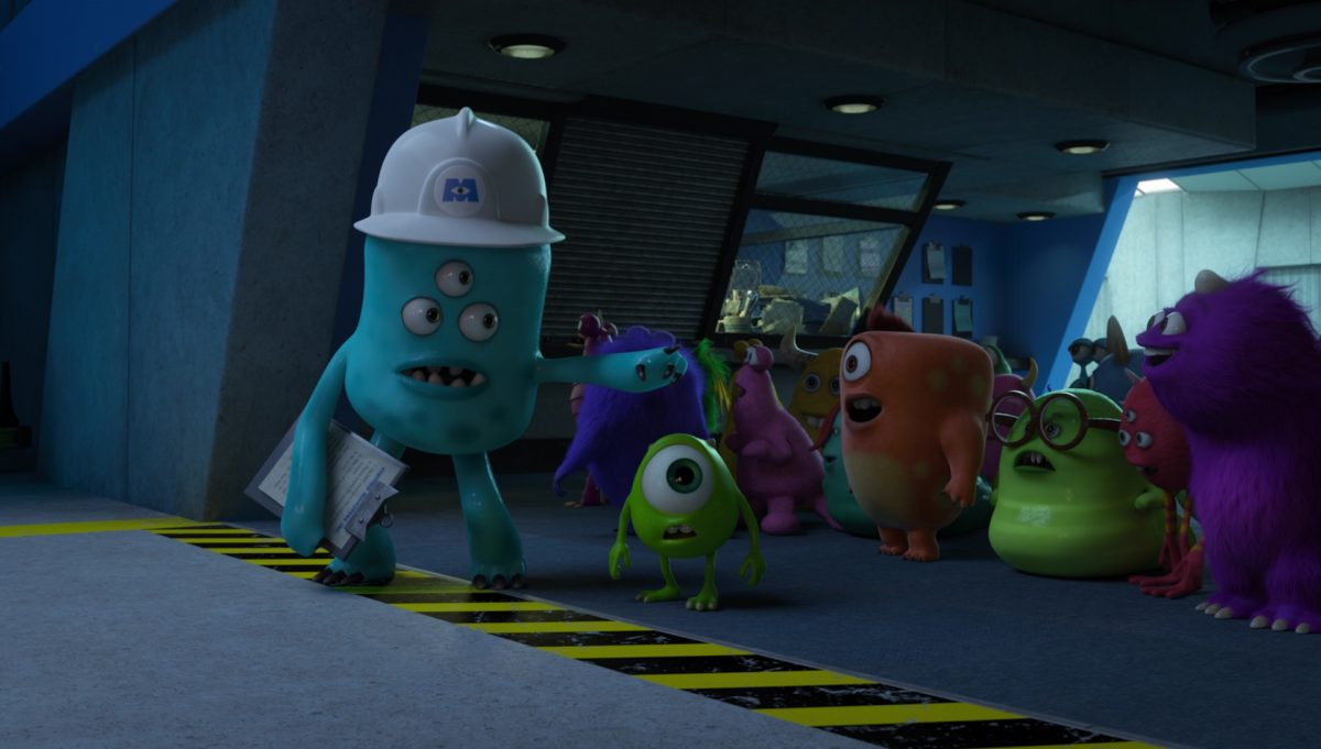 guide personnage character monstres academy monsters university disney pixar