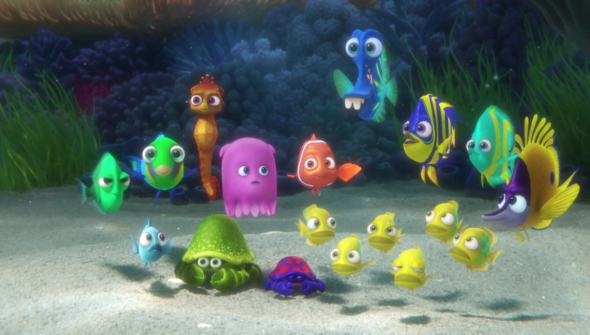 kathy personnage character monde finding dory disney pixar