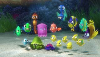 kathy pixar disney personnage character monde dory finding