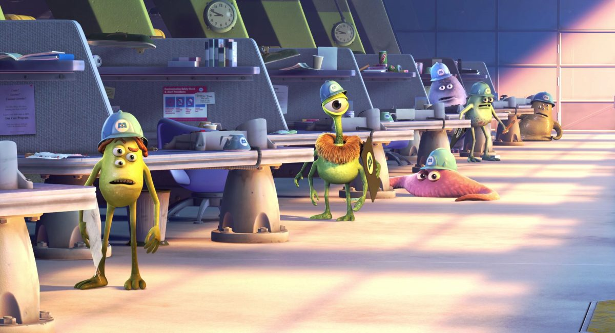 maguy personnage character monstres monsters inc cie disney pixar