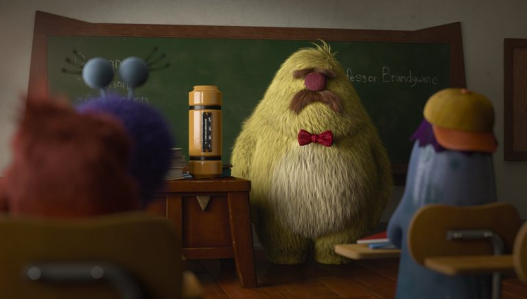 "Professeur William Brandywine, personnage dans ""Monstres Academy""."